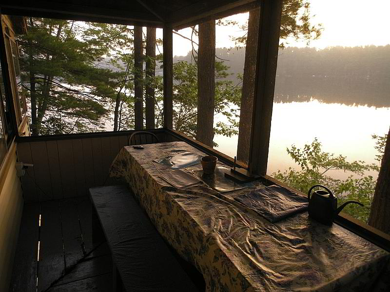 breakfast table at the camp.jpg