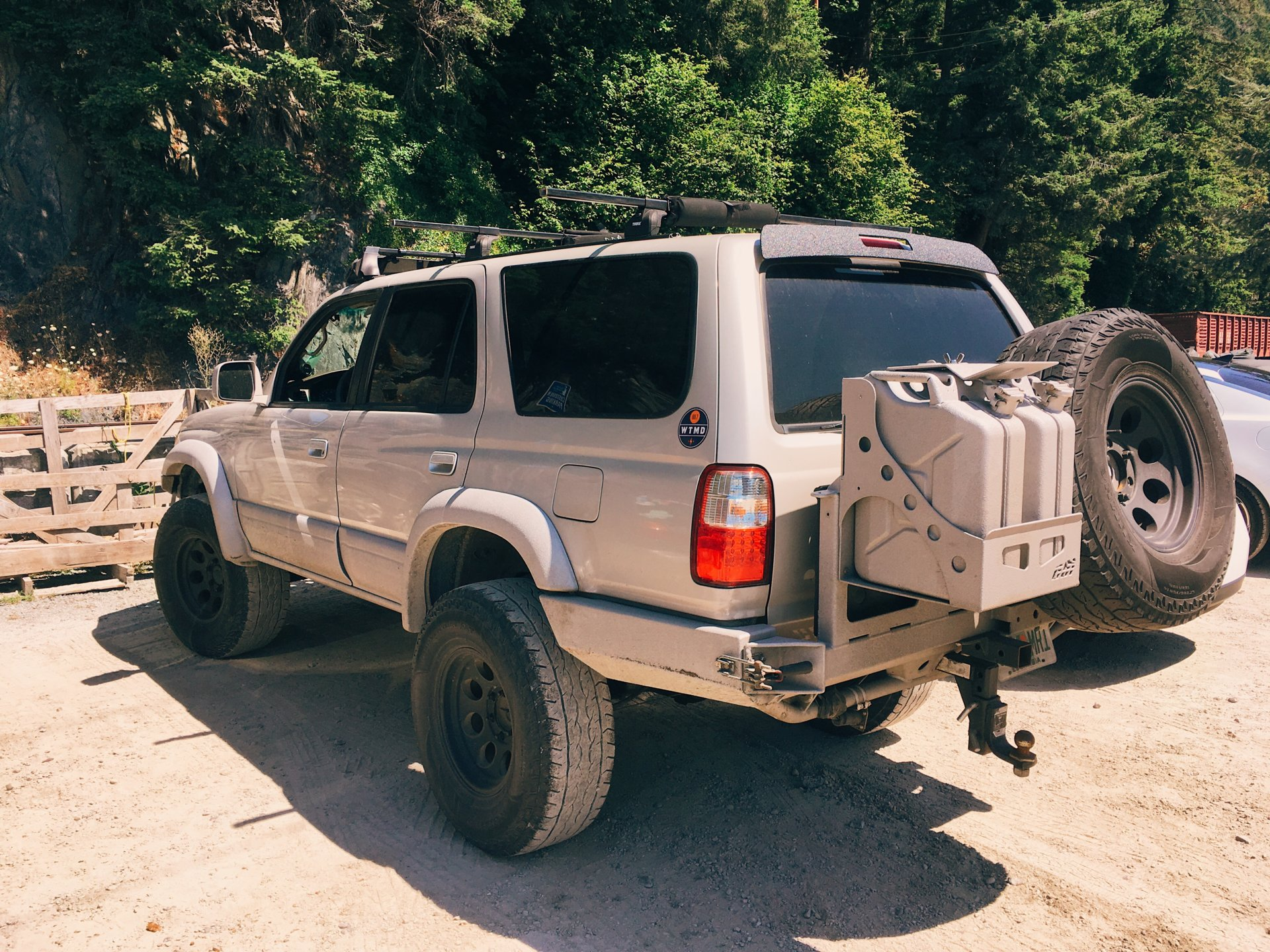 For Sale Cbi Offroad 3rd Gen 4runner Rear Bumper W Tire And 2 Jerry Can Swingout Ih8mud Forum