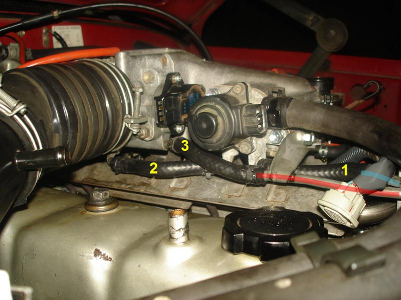 1989 Fj62 Coolant Bypass Hose Routing To Throttle Body
