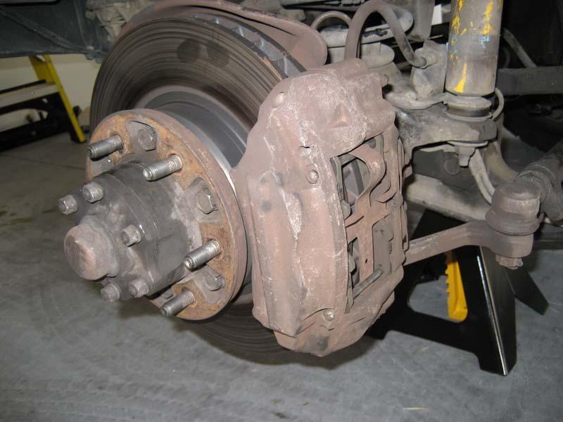 Replacing Front Rotors Amp Brake Pads Ih8mud Forum