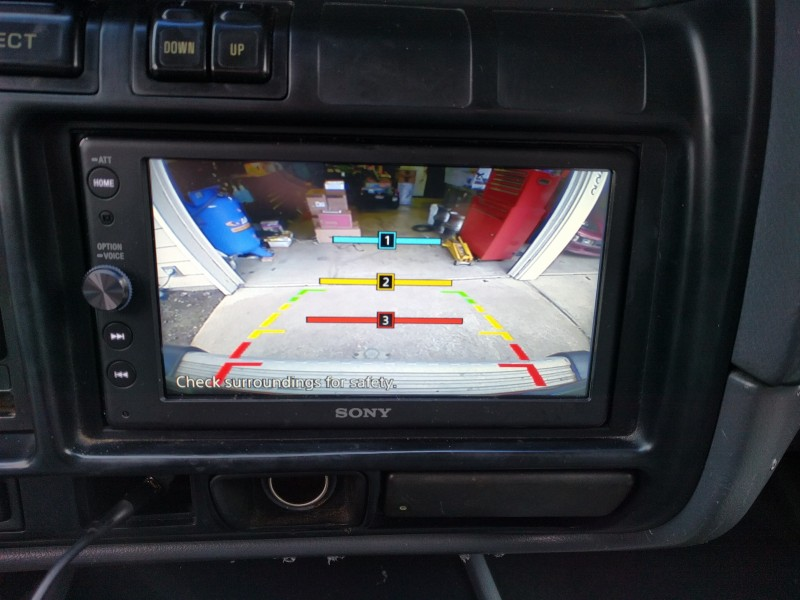 Sony XAV-AX100 Install w/ Backup Cam | IH8MUD Forum