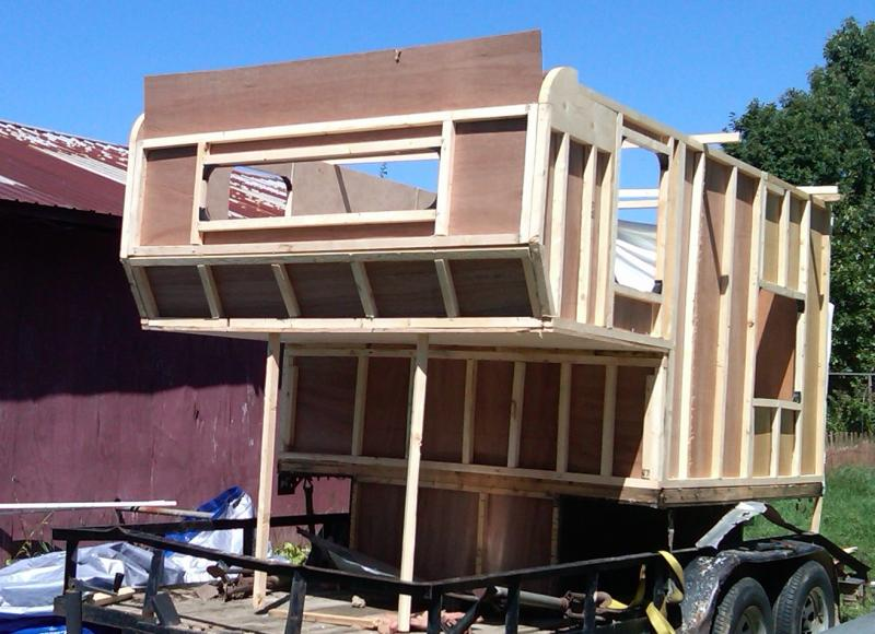 ... Home Built Truck C er Plans. on homemade slide in camper plans