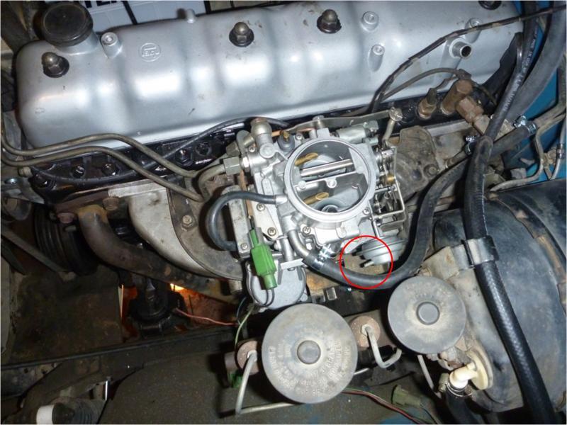 Vacuum Leak moreover Maxresdefault also Px Routing likewise D Mustang Inline Vacuum Lines also Hqdefault. on carburetor vacuum line diagram