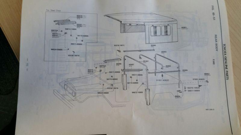 Sold 1975 Toyota Dealer Parts Catalog Price Lowered Ih8mud Forum