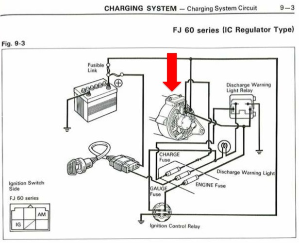 toyota alternator wiring diagram  toyota  get free image about wiring diagram