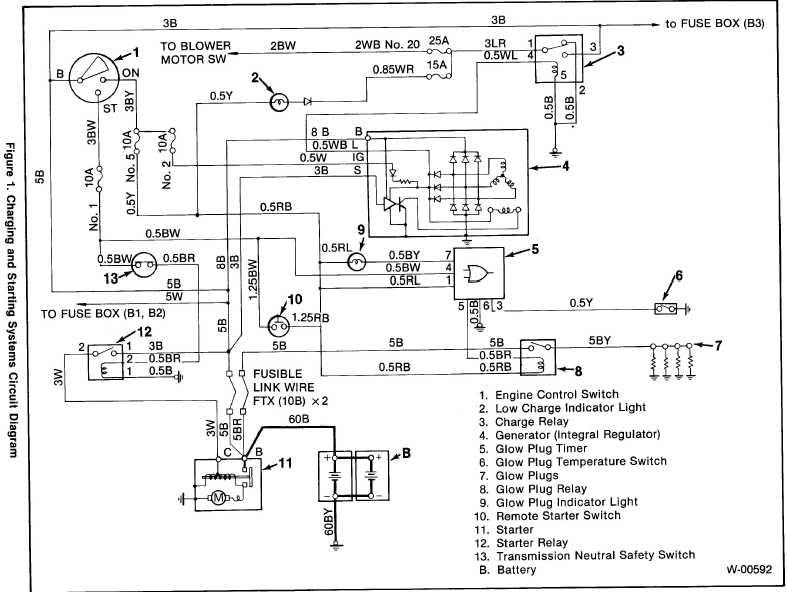 alternator 97 isuzu rodeo wiring diagram isuzu trooper. Black Bedroom Furniture Sets. Home Design Ideas