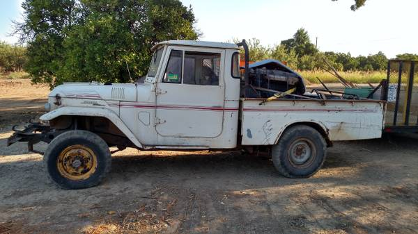 craigslist - 1968 Toyota Land Cruiser FJ45 - $12500 SF Bay