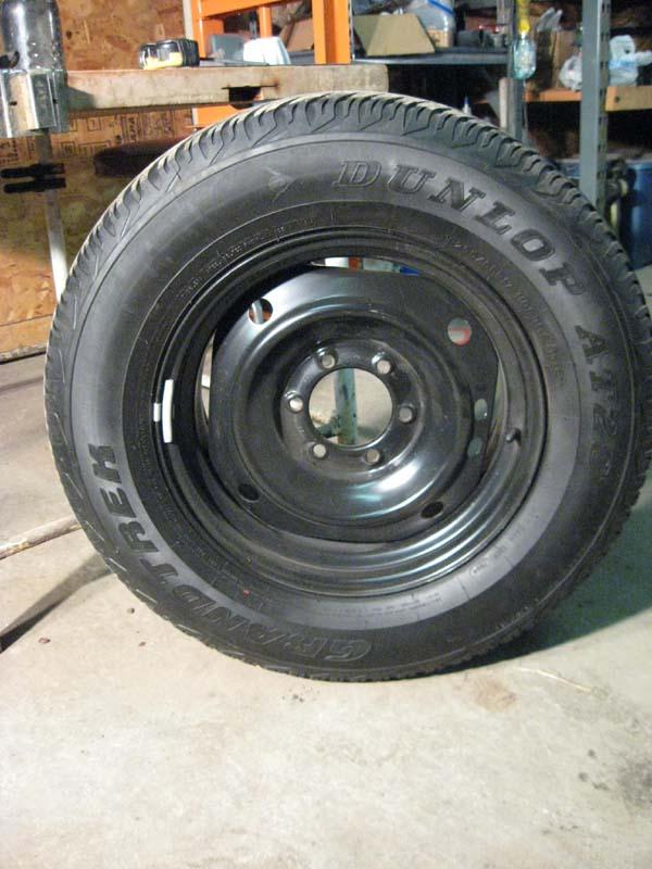 """For Sale - Utah - 17"""" Tacoma Steel Wheel / Spare   IH8MUD ..."""