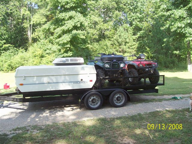 Pop Up Trailer W Frame Mounted Rack For Atv Page 2