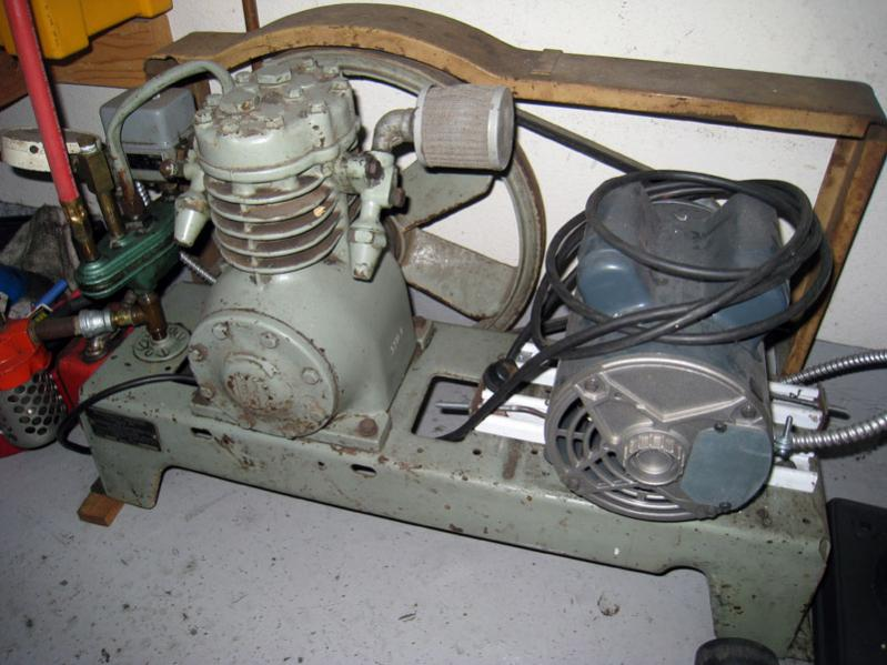 Is old compressor worth rebuilding ih8mud forum for Can i use motor oil in my air compressor