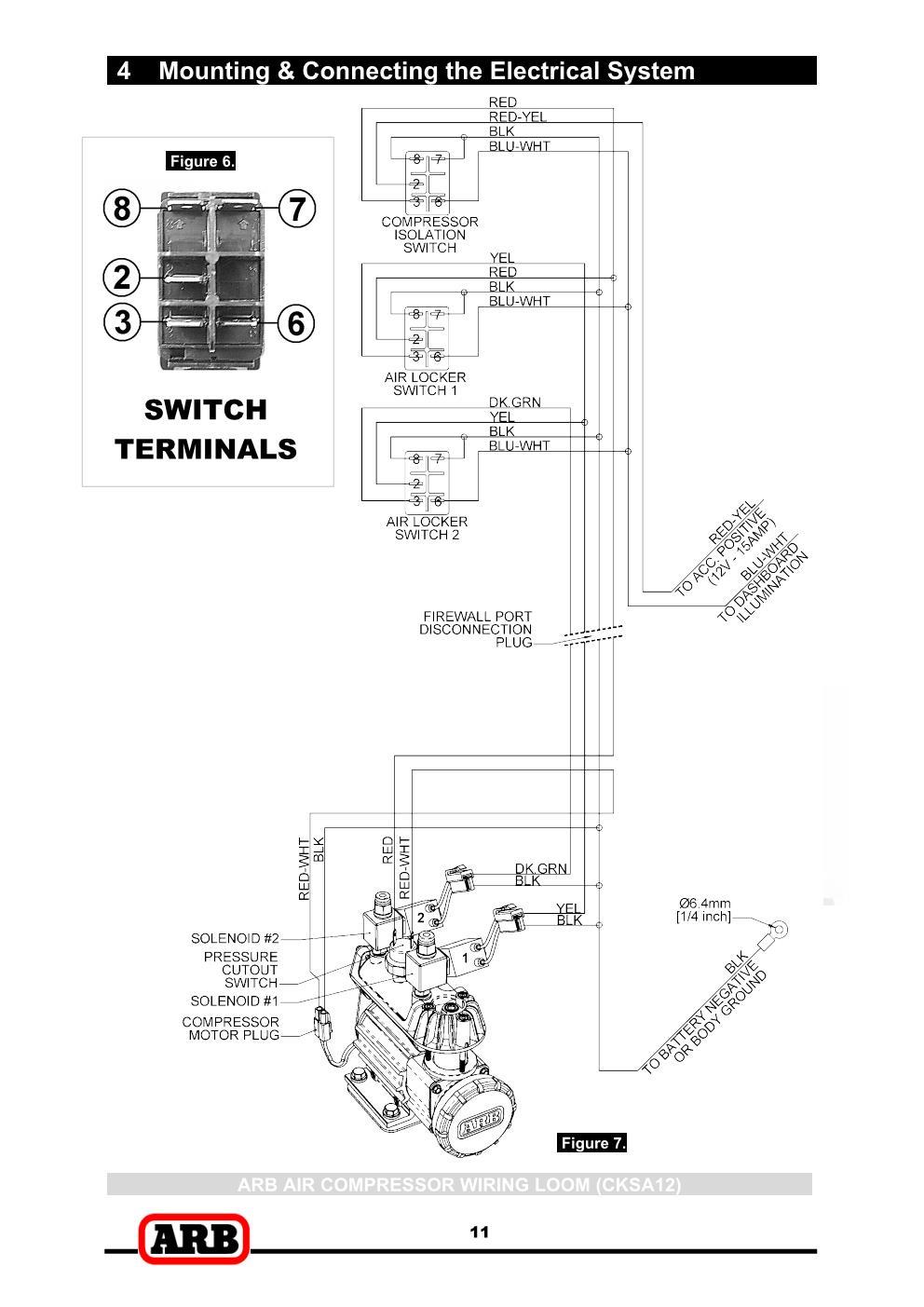 Elocker   Air Locker Wiring Mystery  Help