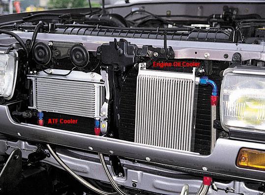 transmission cooler installation