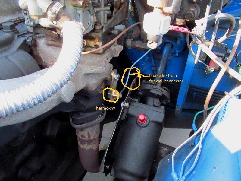 fj40 carb cooling fan   do you run yours