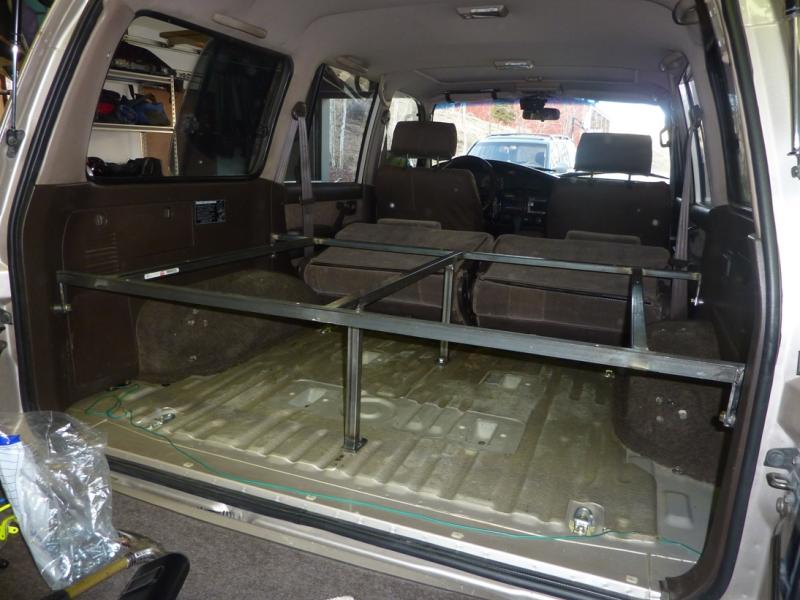 truck bed sleeping platform with drawers Car Tuning
