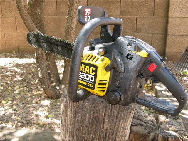 mac 3200 chainsaw for sale