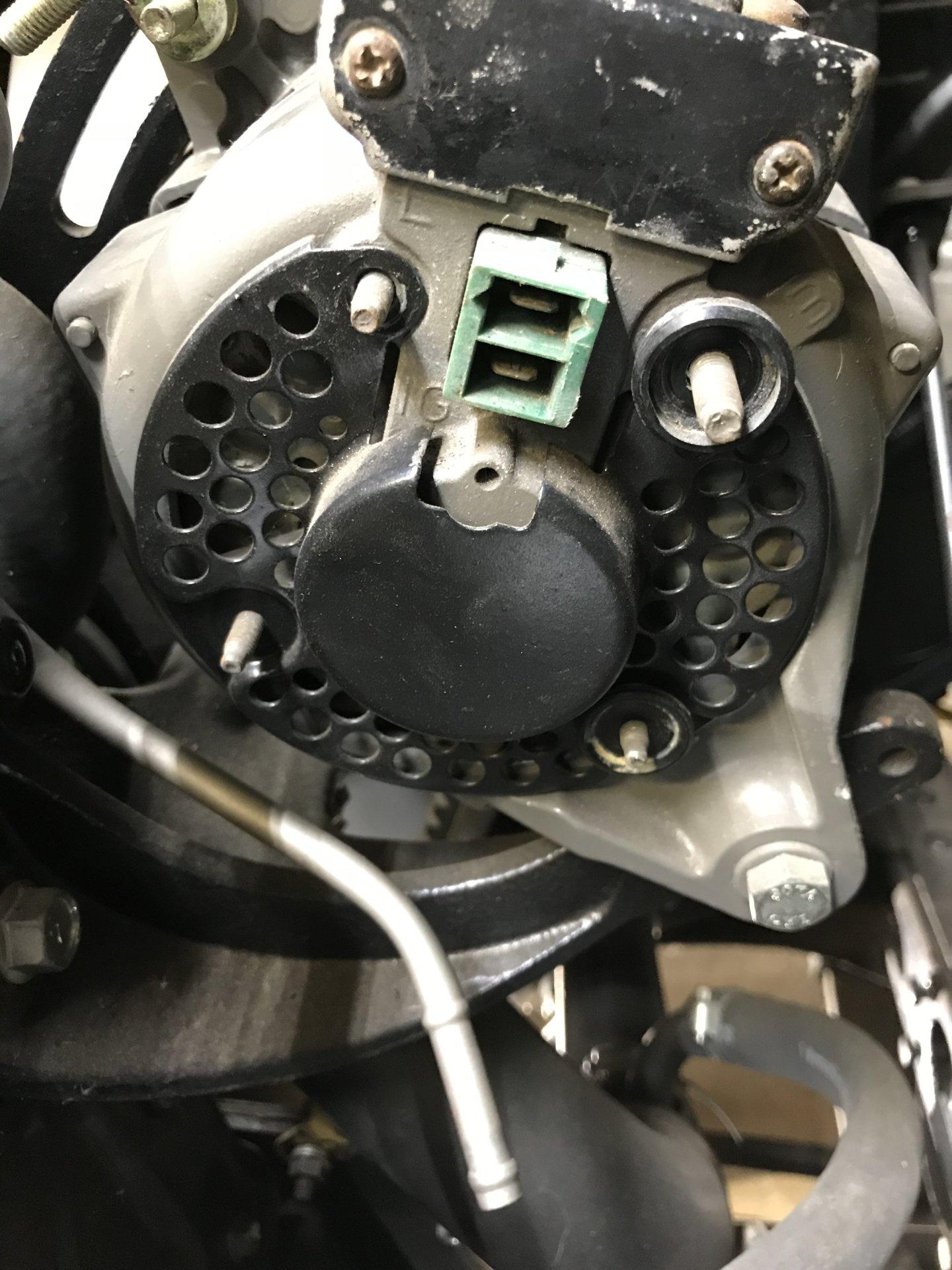 1981 Fj40 Alternator Wiring