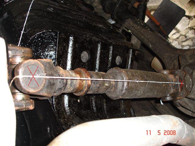 Alignment of driveshaft yokes & mystery vibrations | IH8MUD