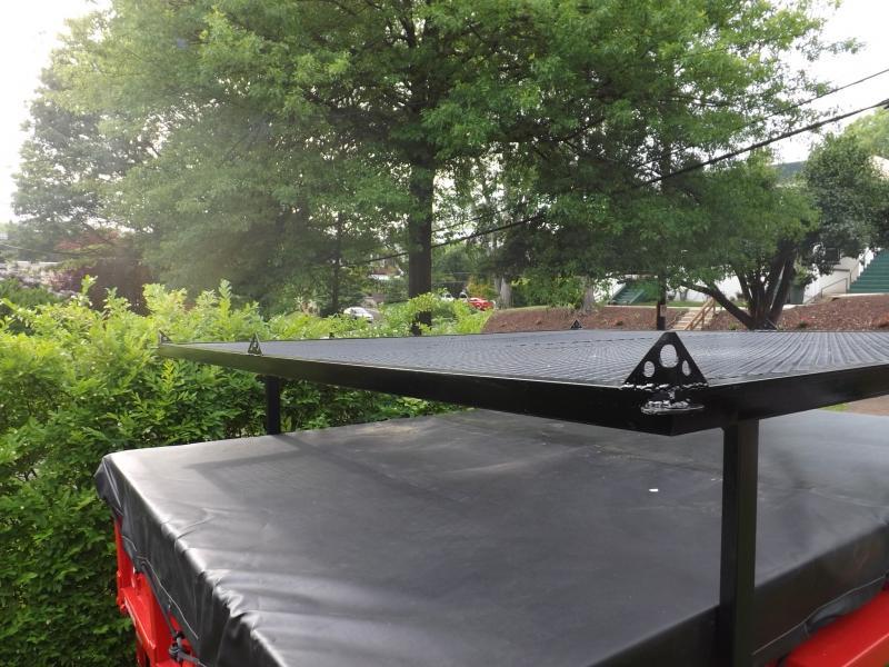 Fj60 Roof Tents : Poor man s roof top tent ih mud forum