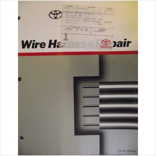 Wanted - Toyota Manual RM234E wire harness repair or older | IH8MUD ForumIH8MUD Forum