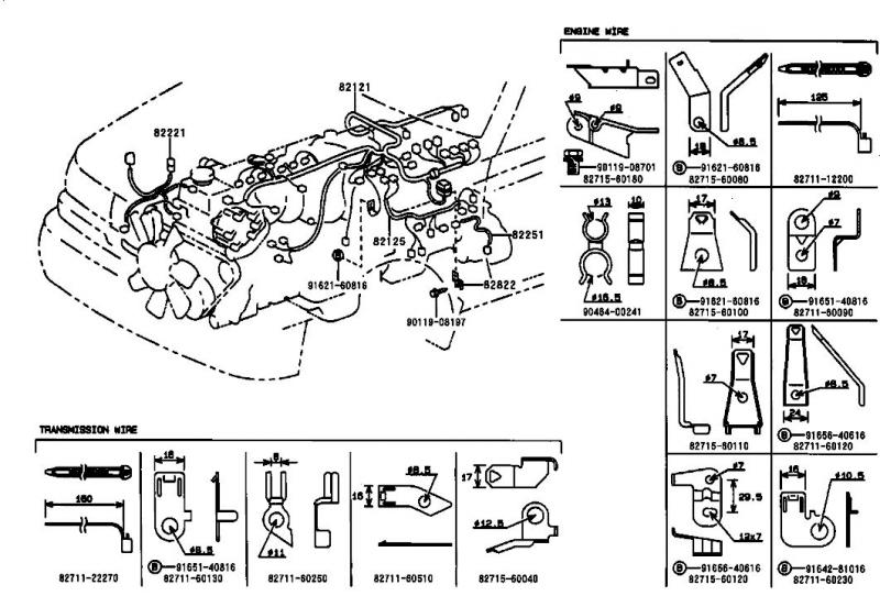 lexus lx450 engine diagram lexus wiring diagrams