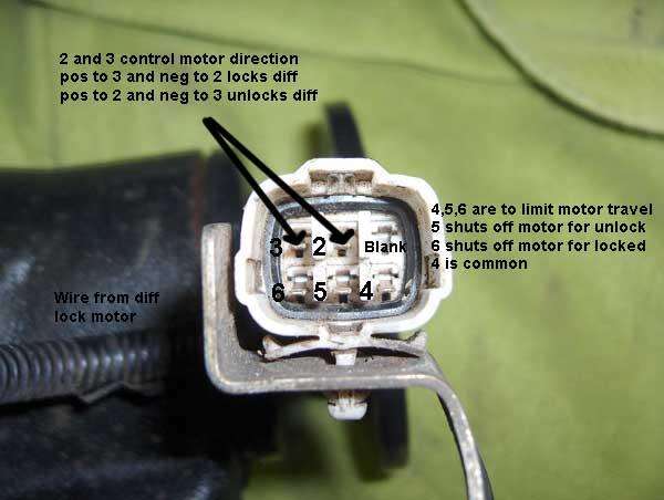 Locker Actuator 9 Volt Test
