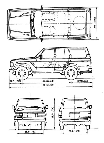 Fj62 Dimensions Ih8mud Forum