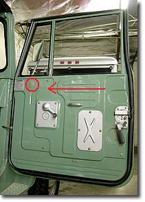 Door grommet.jpg & Wanted - FJ40 Door Grommet - see pic | IH8MUD Forum