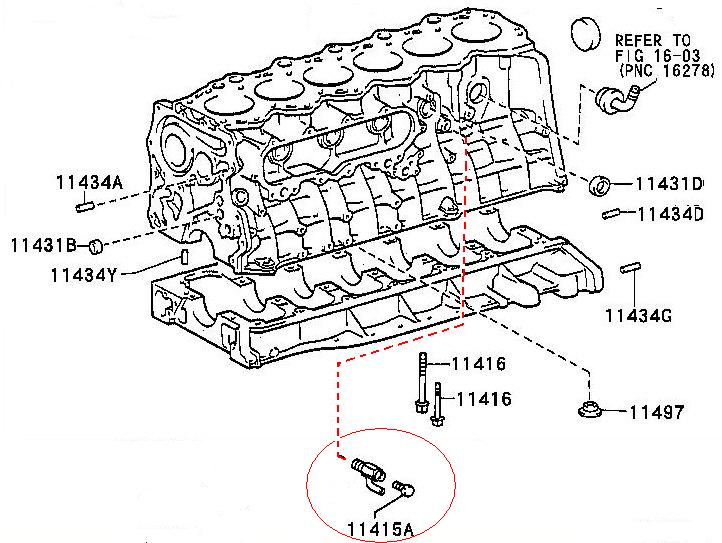 where the f is the block drain for coolant  1hz