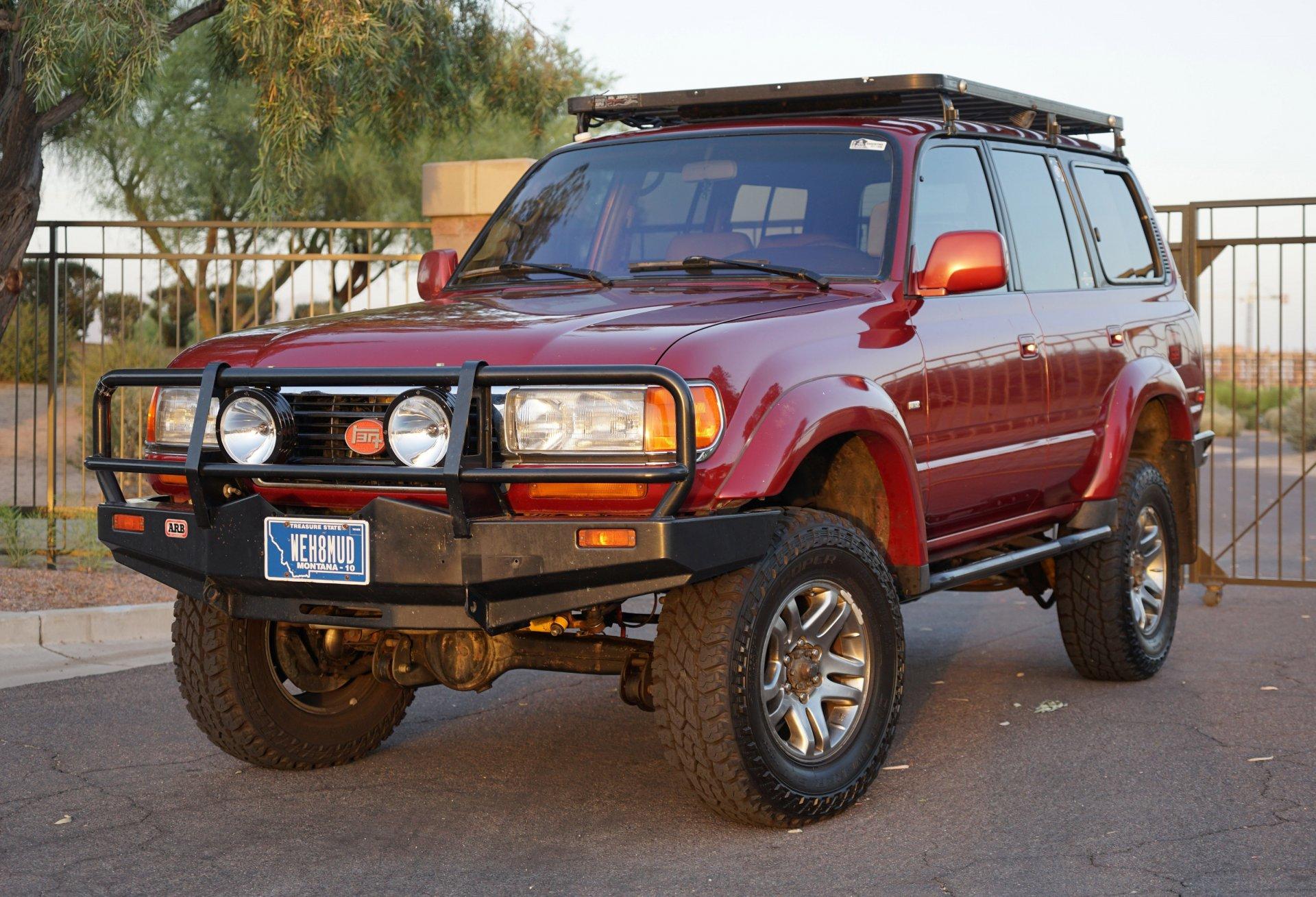 SOLD - SOLD -1995 Toyota Landcruiser w/ 4BT Cummins 3 9L