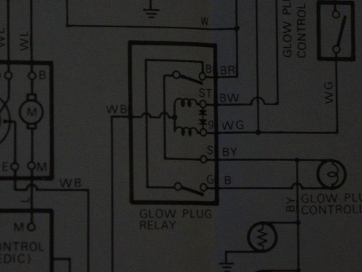 internal wiring of bj40/bj42/hj42 glow relay (manual glow) | ih8mud forum