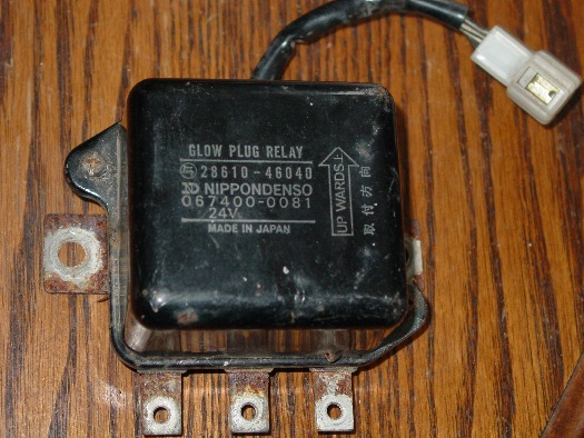 Internal Wiring Of Bj40  Bj42  Hj42 Glow Relay  Manual Glow