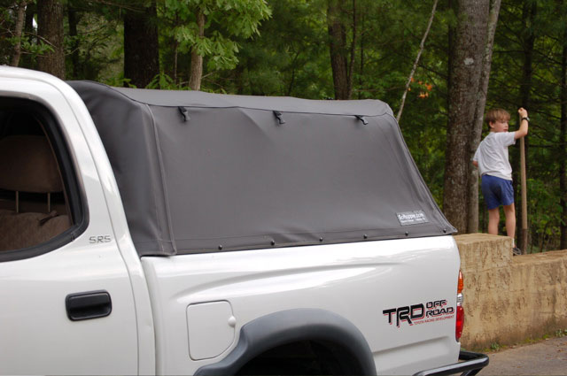 Toyota Tacoma Topper >> Softopper install on 2001 double cab Tacoma | IH8MUD Forum