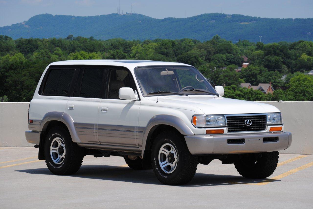 Dealer 1997 Lexus Lx450 White Locked 165k 10 000