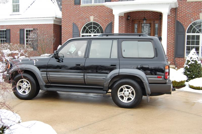 East Bay Tire >> 1996 Lexus LX450 Land Cruiser FZJ80 LOCKERS BLACK TAN ...