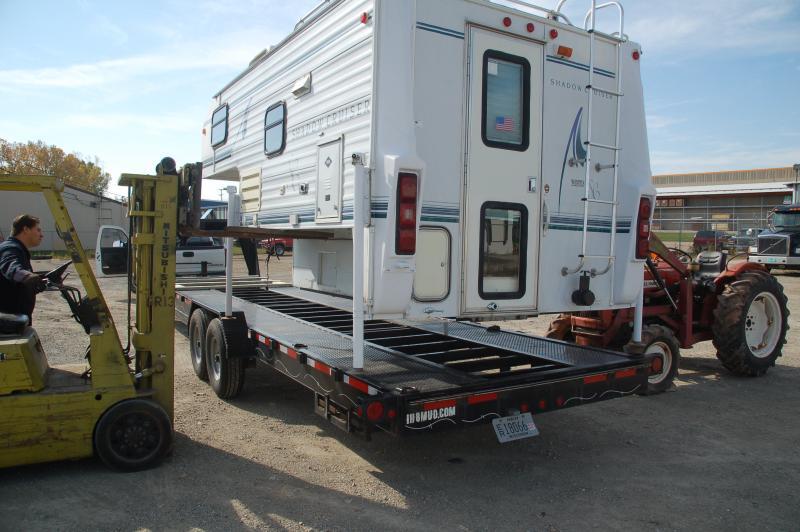 Truck Camper + Gooseneck = ? | IH8MUD Forum