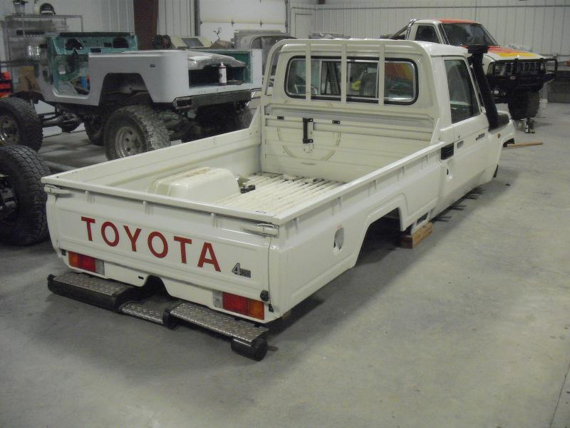 Toyota Land Cruiser Parts ... from mine trucks from Canada. We will use new parts where necessary