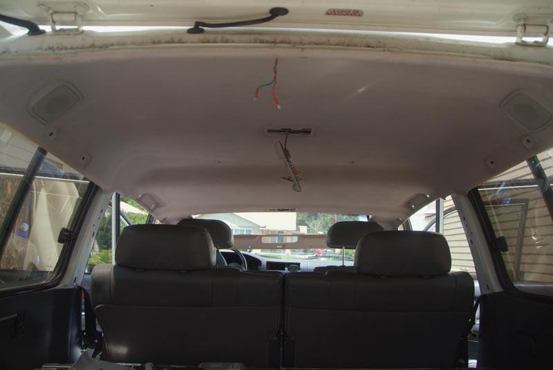 Toyota Tundra Diesel >> Welding roof rack holes and headliner removal | Page 2 ...