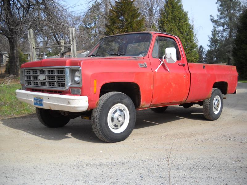 for sale 1978 chevy 4wd 3 4 ton ranch truck or ih8mud forum. Black Bedroom Furniture Sets. Home Design Ideas