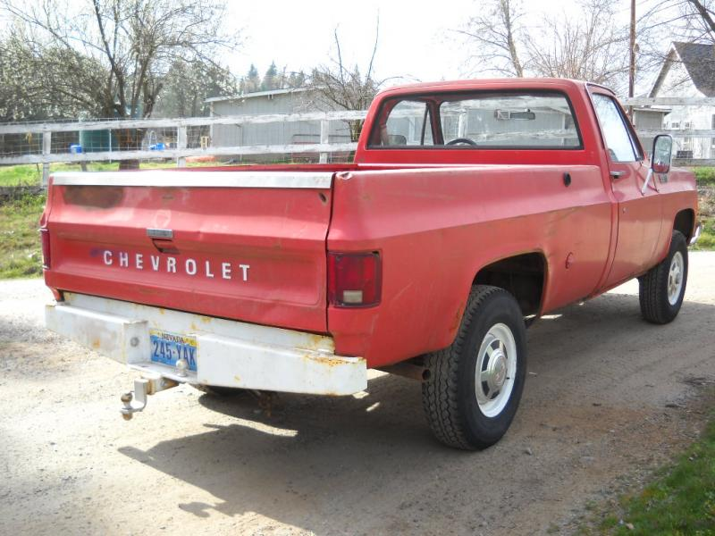 For Sale - 1978 chevy 4wd 3/4 ton ranch truck or? | IH8MUD ...