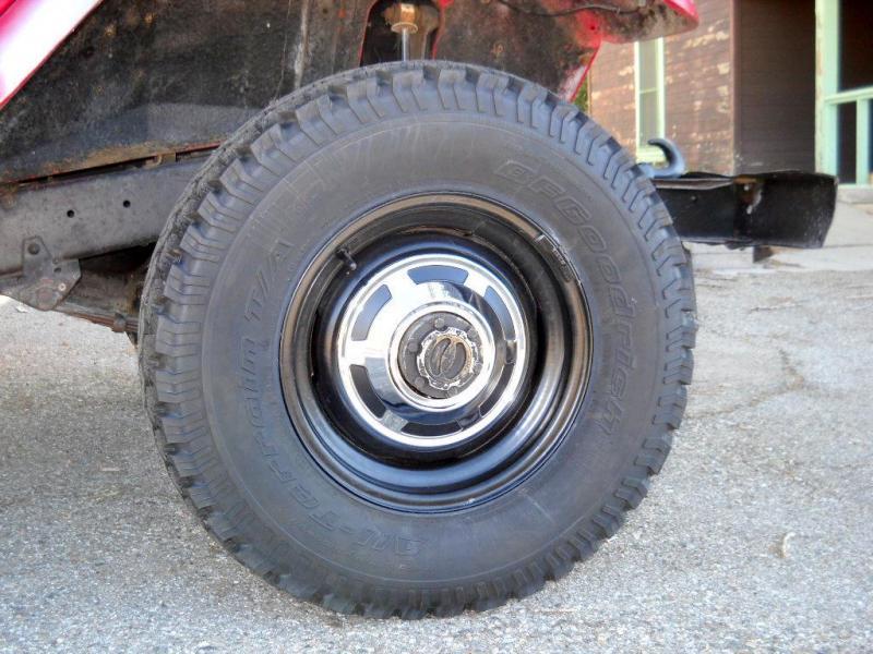 Tire Size Similar to Original Stock