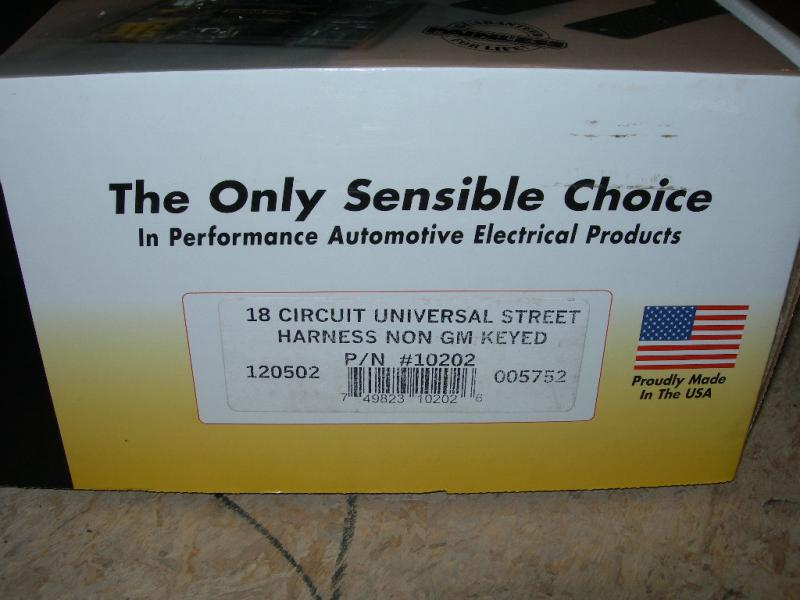 For Sale - NIB Painless wiring harness part# 10202 | IH8MUD Forum