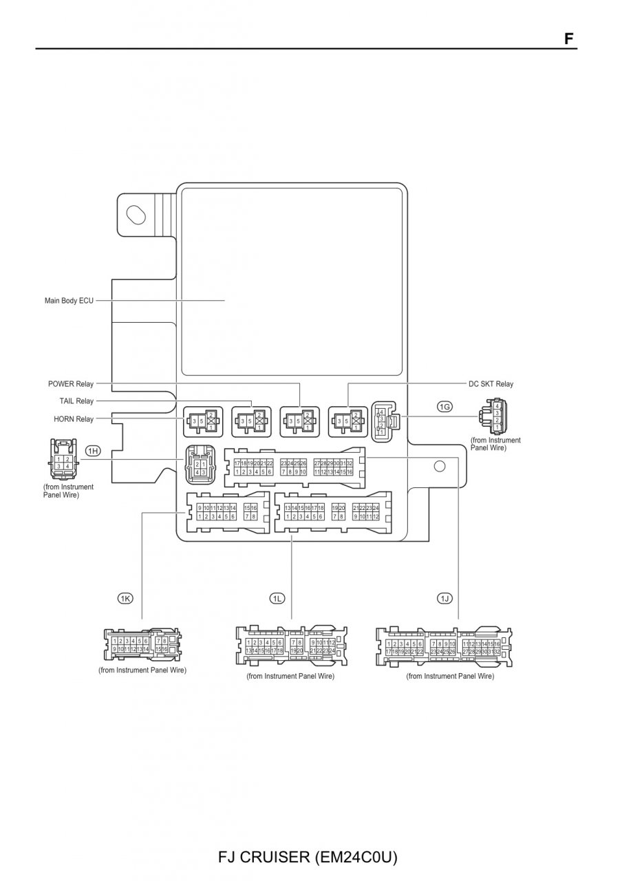 Toyota Fuse Box Terminals Block And Schematic Diagrams \u2022 Ford Fuse Box  Terminal Repair Kit