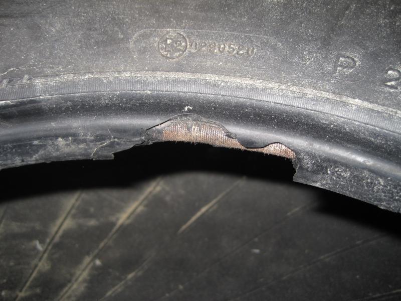 damaged tire bead ihmud forum