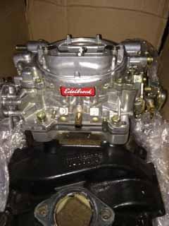 For Sale - CO: Rebuilt Eelbrock 600 CFM Carb, and GM Dizzy