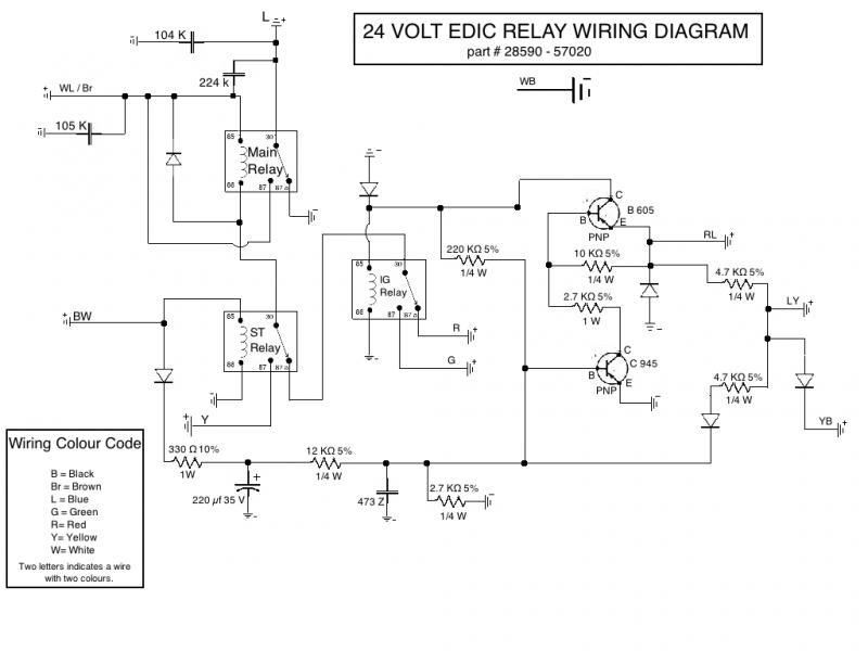 Edic 24v Rebuilding - Repair