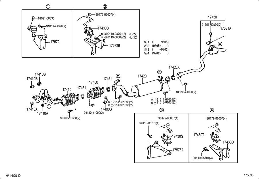 1997 Toyota Land Cruiser Parts Diagram Wiring Circuit