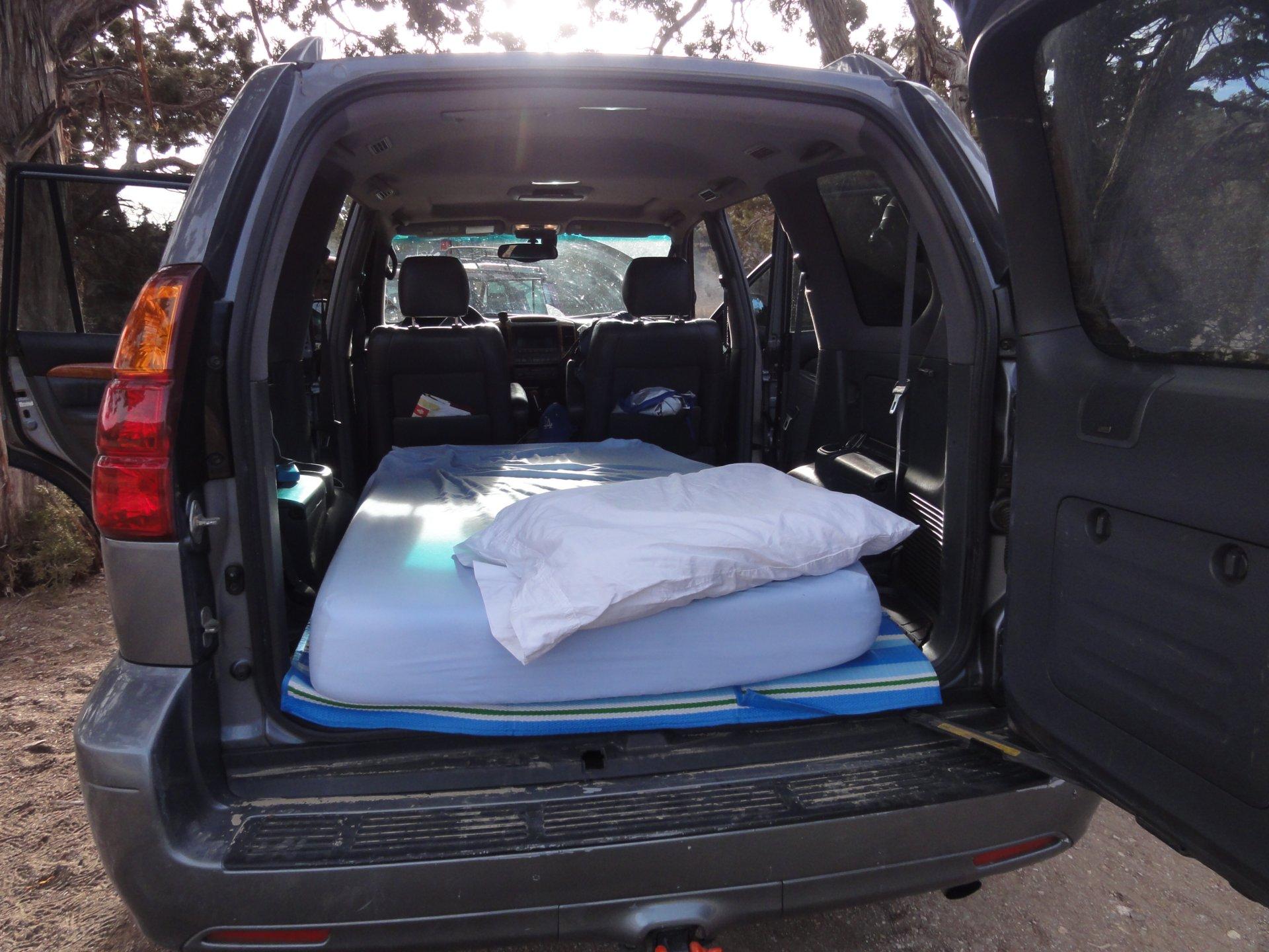 Lexus 3rd Row >> Poor man's sleeping platform | IH8MUD Forum