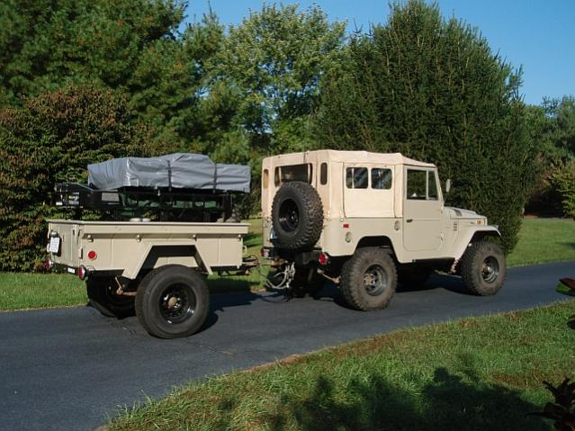 Fj40 And M416 Trailer Combo Pictures Please Ih8mud Forum