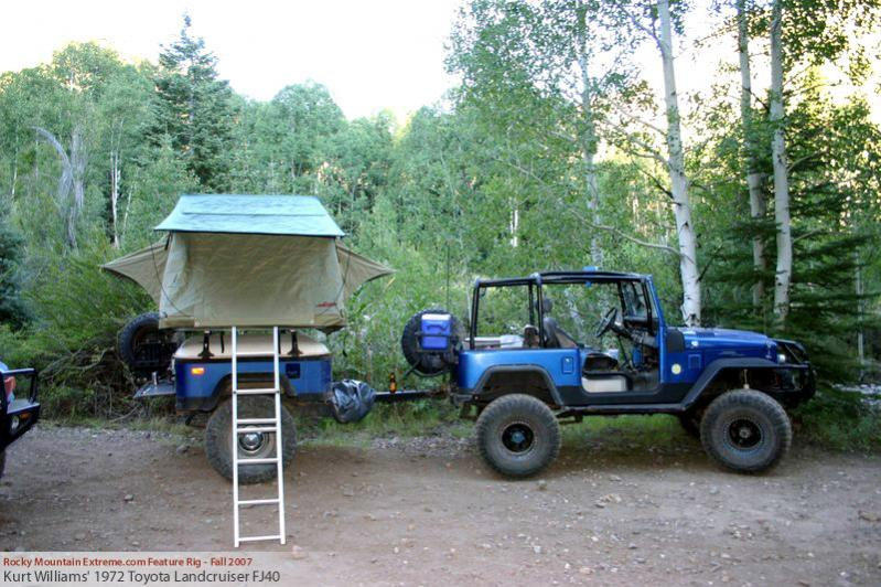 Expedition Trailer Made From Fj40 Tub Ih8mud Forum