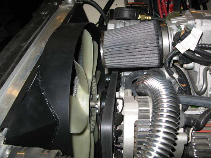 Brackets And Radiator Installation - Brackets and Pulleys and Fans ...